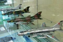 модели-копии самолётов, выпускавшихся на КнААПО