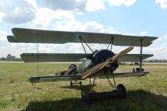 Fokker Dr.I после полета