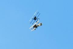 Fokker Dr.I атакует Tumelissa