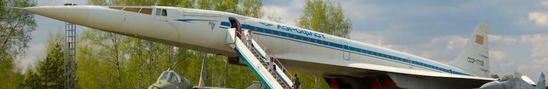 Ту-144 77106 в музее ВВС