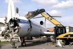 Разрушение Ту-154 на ВДНХ