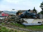 разделка Ту-114 в Домодедово