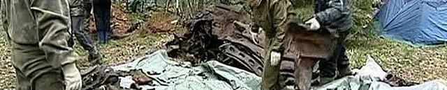 В районе города Верхние Серьги (Свердловская область) участники добровольной поисковой экспедиции нашли обломки американского бомбардировщика