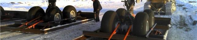 Лыжное шасси для Ил-86