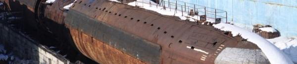 Атомная субмарина К-3 в Мурманской области
