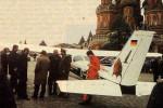 Самолет Матиаса Руста на Красной площади, 1987 год