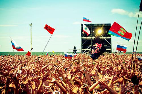 В Самарской области прошёл Рок над Волгой 2013