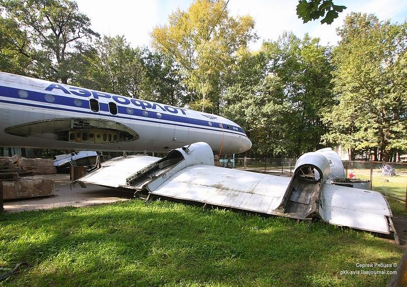 Ил-18 в Химках