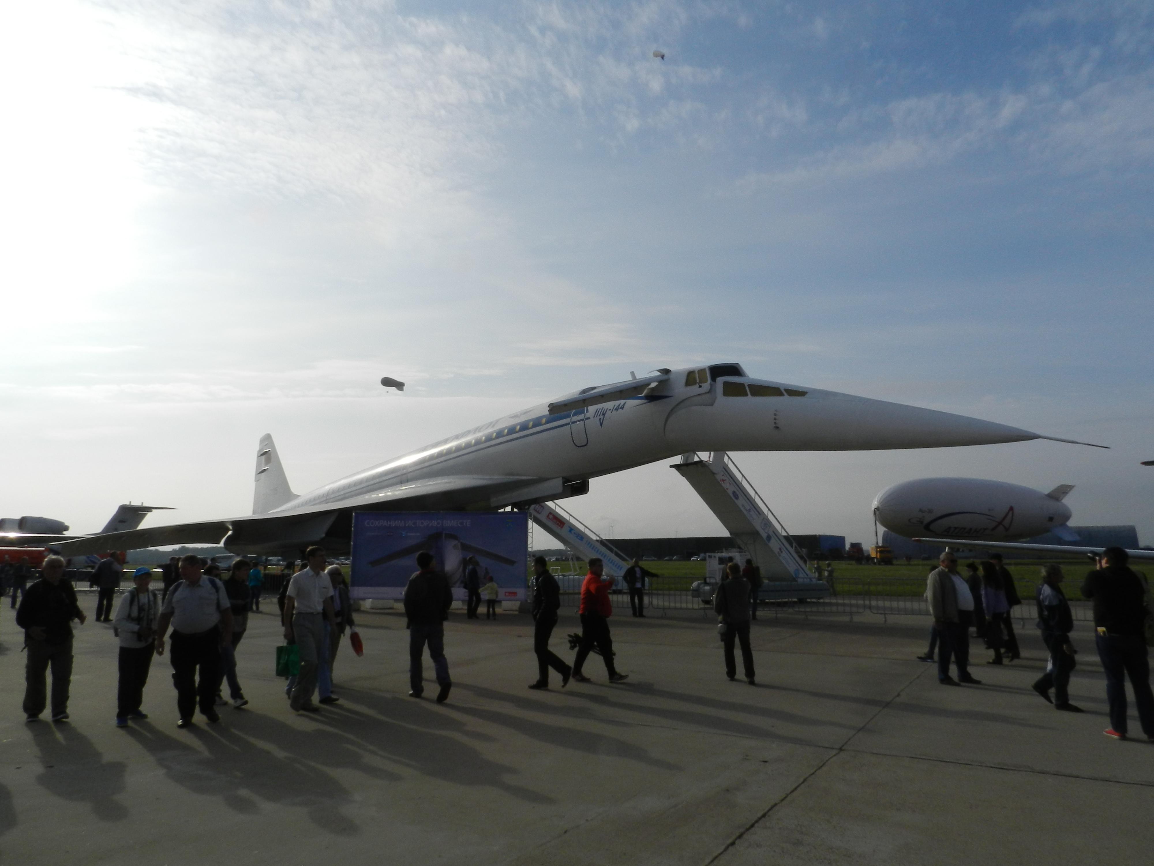 Ту-144Д 77015 на МАКС 2013