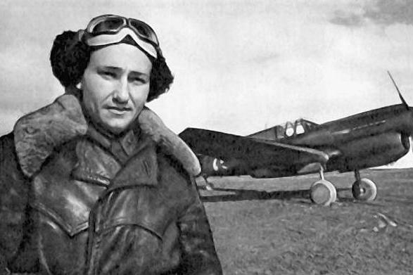 Герой Советского Союза, летчик-истребитель Алексей Хлобыстов