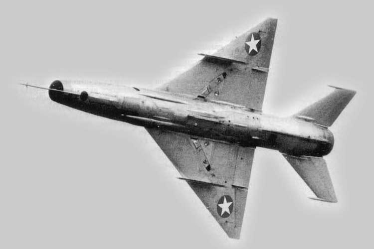 МиГ-21Ф ВВС Сомали