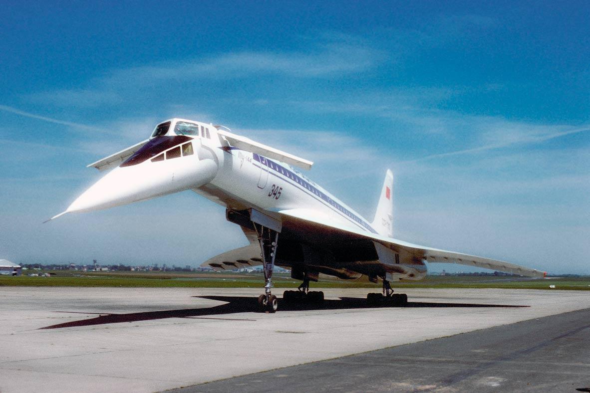 Ту-144 б/н77110 в Ле-Бурже 1977