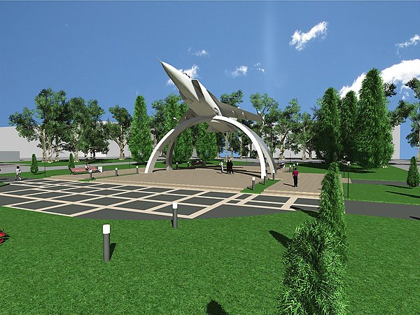 Мемориал «МиГ на взлете»