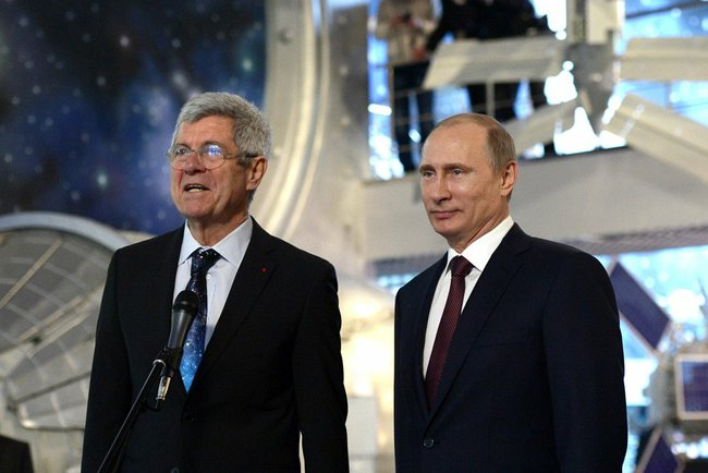 Владимир Путин и Джованни Биньями