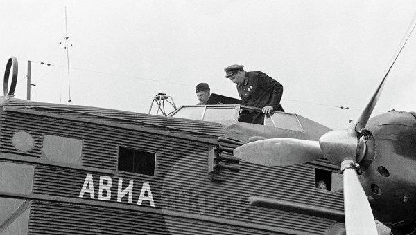 Подготовка к полету. Архивное фото