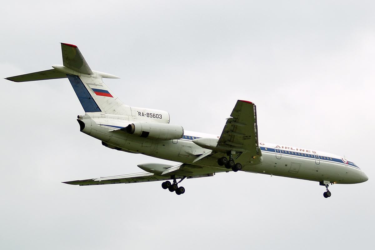 Ту-154 Оренбургских авиалиний