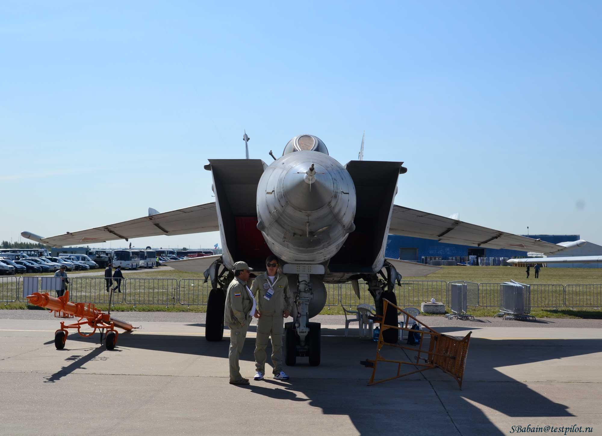 МиГ-25БМ на МАКС-2015