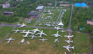 Минобороны России переместит авиатехнику музея ВВС из Монино в Кубинку