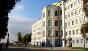 Фасад здания на Советской 1