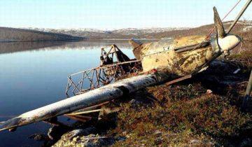 Hurricane Z 5252 Во время подъема из озера. Фото из архива С.Осетинского