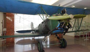 В музее военной техники УГМК появился «небесный тихоход»