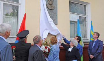 В Тамбове открыли памятную доску Герою Советского Союза В.П.Колошенко
