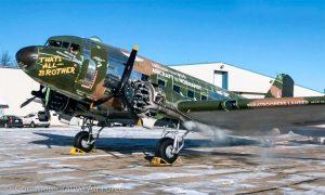 В США восстановили военно-транспортный самолет С-47 That's All, Brother