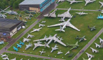 Летный музей в Монино