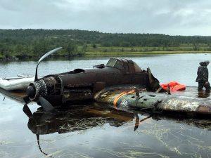 Ил-2, который затонул во время Великой Отечественной войны в 1943 году в Мурманской области