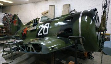 Новосибирские авиаинженеры восстановили истребитель И-16