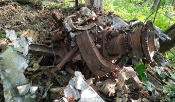 """В Приморье нашли разбившийся в 1941 году бомбардировщик. Фото: """"Авиапоиск"""""""