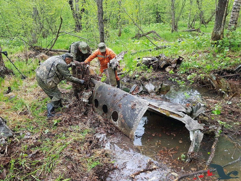 Сахалинские поисковики установили причину гибели бомбардировщика Ту-2