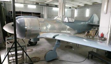 Воссоздание истребителя Ла-5